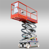 electric scissor lift sjiii 3219
