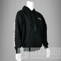 oxford zip hoodie