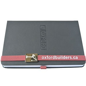 Notebook with Red Bookmark 2