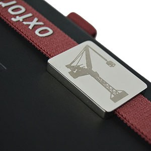 Notebook with Red Bookmark 4